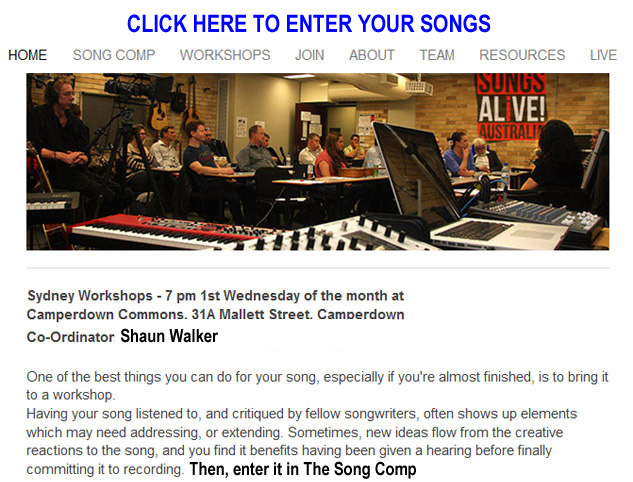 Click here to enter songs in The Song Comp