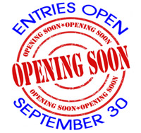 entries open September 3oth 2016