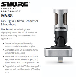 Shure® MV88